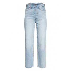 Levi's®   Flared Jeans RIBCAGE 55 Middle Road Für Damen 79% Baumwolle 21% Lyocell ESQWENO